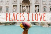 Places I ❤ / My favorite countries and places in the world. Travel inspiration, travel guides, and travel tips.