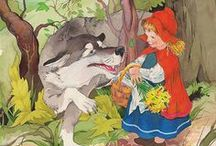 Красная шапочка. Шарль Перро. / Красная шапочка / Little Red Riding Hood / Rotkäppchen / Le Petit Chaperon Rouge / 赤ずきんちゃん/ Cappuccetto Rosso /小红帽/ Caperucita Roja / 빨간 망토 / Punahilkka / Piroska /Červená Karkulka / Қызыл телпек / Punamütsike / Raudonkepuraitė