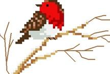 Cross-Stitch (Birds)