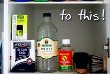 Craft Room: Cleaners & Room Scents / by TardisBlueWings