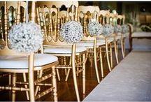 Gold, Silver & Metallic Weddings ♥