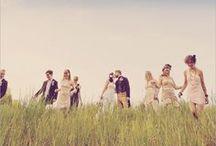 Bridesmaids, Grooms men & The wedding party ♥