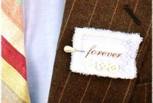 Boutonnieres for the groom ♡