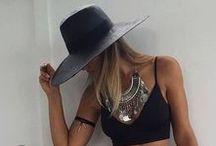 Boho style / Bohemian style, boho chic, outfits