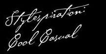 Stylespiration: Cool Casual / Welcher Stiltyp bist du: klassisch, urban, vintage oder bohème? Auf dieser Pinnwand findest du Inspirationen für lässige Looks mit dem gewissen Etwas - stilvoll und bequem.