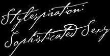 Stylespiration: Sophisticated Sexy / Welcher Stiltyp bist du: klassisch, urban, vintage oder bohème? Auf dieser Pinnwand findest du Inspirationen für einen geschmackvollen Auftritt mit Sexappeal. Perfekt für die Femme Fatale.