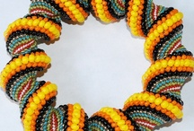 """BEADWORK WOVEN / I sure love beads.  I had so many pins on my """"Bead"""" board, I had to break them out.  Now I have Beads, Beads of Glass, Beads on People and Beadwork Woven. / by Ronni Rittenhouse"""