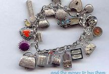 MY CHARM BRACELET & CHATELAINES / A fantasy bracelet for moi! And chatelaines seem a bit similar, so... / by Ronni Rittenhouse