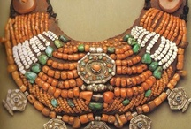 BEADS AMBER & CORAL & OTHER STONES / by Ronni Rittenhouse