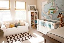 Nursery / Habitación del bebé / by Katherine Keeler
