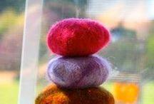 Wool Felting with Kids