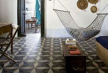 Nest - Floor / An interesting floor treatment can make the room!