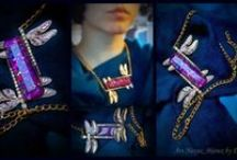 EliArsNexus jewels, art, inspiration / My art and crafts space. Jewelry I make while inspired by art history, the natural world, different eras and cultures. Plus links to expand on techniques, symbols, mentors. Warning: dragonflies overload :)