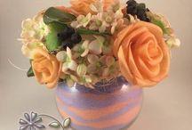 Цветы из полимерной глины / Цветы из полимерной глины