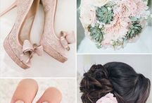 Colour scheme - blush / The colour that goes with everything...you just have to decide what!