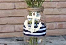 Theme - nautical / For those looking to 'anchor' their wedding somewhere nautical
