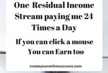 Residual Revenue / Create your online success is a Review site, which help people to create their own online success and also help them to create their Residual Income every month by spending 5 minutes a day on Internet.
