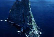 Îles et récifes
