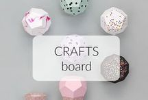 CRAFTS / A ton of DIY projects here!
