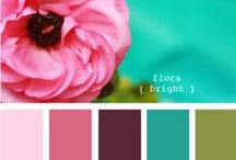 Color Themes / Color palettes to appease any & every bride!