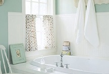 BATHROOM / Bathroom design, color and products