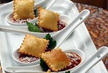 Hors 'duevres & Appetizers / Food, Wedding appetizer ideas