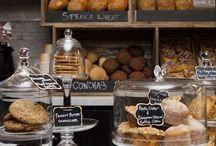 Bakery Design/Packaging/Interior / Inspiration for Bakery interiors, packaging and overall design look & feel.