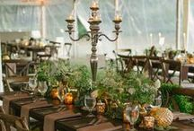 RLE Fall Inspiration / Fall in love with these ideas from past RLE Weddings!