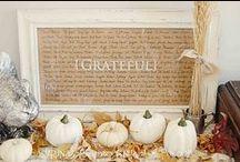 Grateful / Thanksgiving decorations