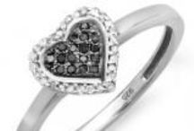 Lovely Heart Shaped Rings