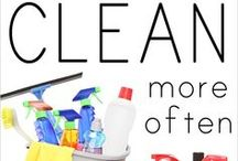 Spring clean / Clean your house