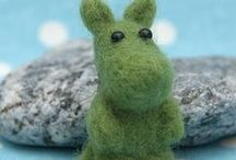 Needle Felting / Cute needle felted creations, tools, tutorials and more...