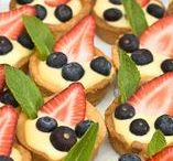 Get the Party Started / Party food and drink ideas, sweet and savoury, easy shareable recipes, party decor for New Year's, birthdays, Valentine's Day  and other special gatherings.