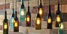 DIY Ideen für leere Flaschen / Was kann man eigentlich alles aus leeren Flaschen machen?