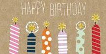 Heureux anniversaire / Joyeux anniversaire / Happy Birthday !