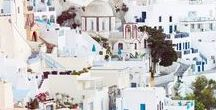 Blue inspiration for Summer like Greece / Spirit and nice blue photo of Greece and Greek fashion