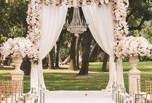 Elegáns   Klasszikus esküvői dekoráció