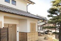 外観デザイン / 木の質感あふれる住宅外観と和風住宅。愛知県一宮市の設計事務所です。 #和風住宅 #外観 #家づくり #住宅 #新築 #和風モダン #木質 #設計事務所