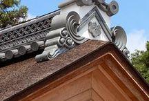 寺院 Japanese temple / 伝統的な木造本堂から現代的な鉄骨本堂まで。 愛知県一宮市と横浜を拠点に活動する株式会社菅野企画設計。 #和風建築 #寺院 #寺