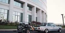 Car and motorcycles / BMW, Porsche, cyclecars, motorcycles