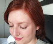 Henna hair care / All natural henna hair dye, before and after shots, root touch ups, and brand formulation reviews.