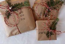 Juledekorasjoner, diy's, gaveideer og ting å gjøre / For å gjøre juleopplevelsen ekstra spesiell.