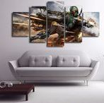 5 Panel Wall Art / Ideas for your wall, check out some of the multi panel wall canvas. These multi panel canvas are unique and creative, you and your guests will be amazed every time you enter the room.