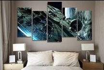Movies & Shows Wall Art / Ideas for your wall, check out some of the multi panel wall canvas. These multi panel canvas are unique and creative, you and your guests will be amazed every time you enter the room.