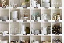 Organization Ideas For The Home / Organizational storage, decorating and styling inspiration, tips and trends. Gorgeous interior design photography curated by Arianne Bellizaire.