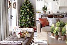 Holiday Decor / Tons of christmas and holiday decor inspiration!