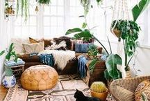 Natural Home Design & Decor / Natural materials, DIY projects, bringing nature indoors