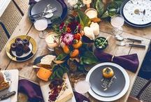 Table Settings / Table decorating and styling inspiration, tips and trends. Party planning, hosting and entertaining ideas. Gorgeous interior design photography curated by Arianne Bellizaire.