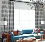 Living Room Decor Ideas / Living room, family room and den design, decorating and styling inspiration, tips and trends. Gorgeous interior design photography curated by Arianne Bellizaire.