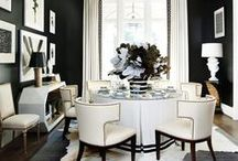 Divine Dining Decor / Dining room design, decorating and styling inspiration, tips and trends. Gorgeous interior design photography curated by Arianne Bellizaire.